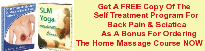 Self Treatment Program For Back Pain & Sciatica